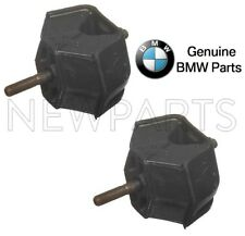 For BMW E24 E28 528e 635CSi Pair Set of Left & Right Engine Mounts Genuine