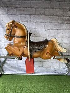Vintage 1950's Wonder Horse Galloping Spring Horse Very Rare Style Great Cond