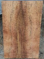 Curly Koa Sapwood Knife Scales; 5.995 x 1.875 x .350 in. ea.