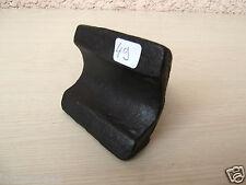 (n°49) OUTIL ANCIEN, old tool, tas, tranche , étampe d'enclume de forgeron 19ème