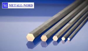 Bohrung 6mm,Stange Alu Profil 6kant 2x Aluminium Sechskant Sw 12mm x 100//130 mm