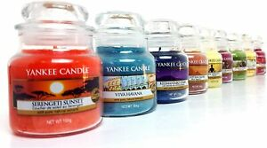 Yankee Candle 6 x Official Assorted Fragrances Signature Classic Small Jars