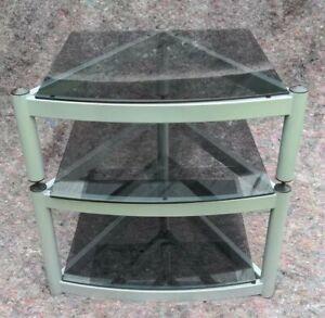 Atacama Equinox 3-Shelf Glass Hifi Stand/Rack What Hi-Fi Award Winning FREE P&P