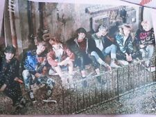 BTS-WINGS:YOU NEVER WALK ALONE ORIGINAL POSTER--- folded poster street ver
