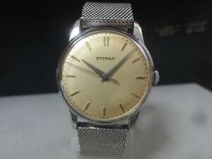 Vintage 1950's ETERNA mechanical watch [3999435] Hand-winding Swiss Made