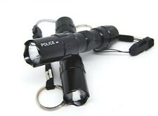 2pc 3w Light Mini Cree LED Waterproof Flashlight Torch w/ Keychain Prepper Lamp