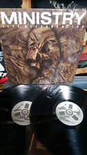 MINISTRY - LIVE NECRONOMICON LP Vinyl Al Jourgensen Industrial Stigmata