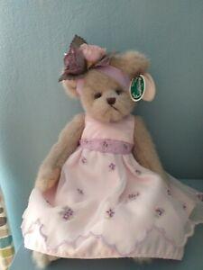 The bearington collection Violet Beautiful Vintage Bear 1561🐻