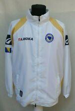Bosnia Herzegovina Legea Football Track Top Jacket Rare White Soccer Size M