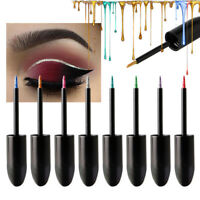 13 Color Waterproof Shimmer Eyeshadow Glitter Liquid Eyeliner Cosmetic BY6W