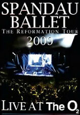 DVD:SPANDAU BALLET - LIVE AT THE O2 - NEW Region 2 UK