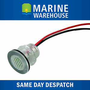 LED White Courtesy Livewell Light 12V - Fully Submersible W/ Tinned Wire 705034