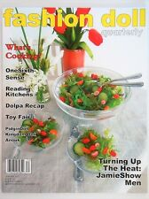 SUMMER 2017 DOLL FOOD Miniature Kitchen FASHION DOLL QUARTERLY FDQ MAGAZINE_NEW
