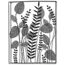 Abstract Climbers Leaves Metal Hanging Home Living Room Ornament Wall Art Decor