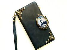 Nightmare Before Christmas Jack Skellington Zipper Wallet Case For Apple iPhone