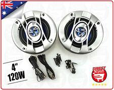 "4"" 2-way Car Audio Speakers 120W Max 1"" Midrange High Powered Schneider CS-432"