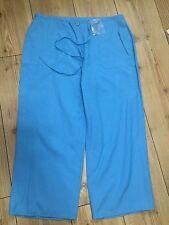 3/4 Turchese Pantaloni Taglia 14-Nuovo Made in UK