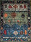 Hand-knotted Rug (Carpet) 5X6'7, Gabeh mint condition