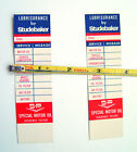 NEVER+USED+STUDEBAKER+ADVERTISING+SPECIAL+MOTOR+OIL+SERVICE+REMINDER+LOT+OF+2