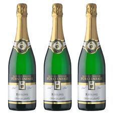 Feinster Riesling-Sekt aus Württemberg - Brut - Fürstenfass - 3 Flaschen á 0,75l