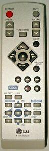 LG 6710CMAM02B Original Hi-Fi Remote Control for LF-M340 Compact Cassette System