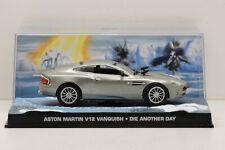 ASTON MARTIN V12 VANQUISH DIE ANOTHER DAY JAMES BOND 007 FABBRI 1/43 NEUF BOITE