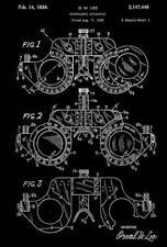 1939 - Ophthalmic Apparatus - Optometrist - Eye Clinic - Patent Art Magnet