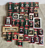 Huge Lot Of 36 Vintage 1990's Hallmark Christmas Ornaments All Boxed