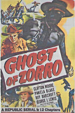 Ghost of Zorro 2 x DVD 1949 12 Chapter Republic Movie Serial Cliffhanger