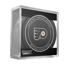 2016 NHL Philadelphia Flyers Stanley Cup Playoffs Official On-Ice Hockey Puck