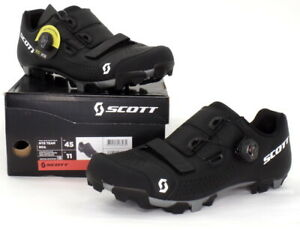 Scott MTB Team Boa Mountain Bike Shoes Black Men's Size 11 US / 45 EU