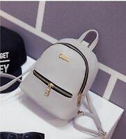 Fashion Women Girls Mini Backpack Leather Shoulder School Rucksack Ladies Travel