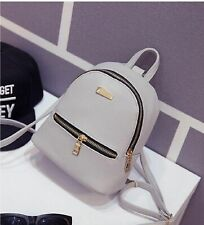 Fashion Women Girls Mini Backpack Leather Shoulder School Rucksack Ladies Travel