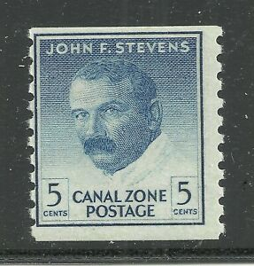 U.S. Possession Canal Zone stamp scott 155 - 5 cent issue of 1962 - mnh  8x
