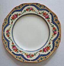 "Vtg 1920's Crown Ducal Floral Pat. 72944 Salad Dessert Lunch Plate 9"" RARE! #2"