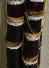 Black Sugarcane Cuban Sugar Cane black 6 pieces 2 buds From Miami Sugarcane