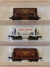 N Scale Atlas 70 Ton Ore Car Union Pacific 3 Pack