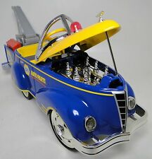 1940s Ford Vintage Truck Pedal Car Pickup Show Yellow Trim Midget Metal Model