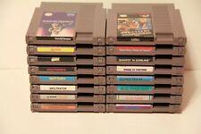 Nintendo NES Video Game Dr Mario Yoshi Capcom RPG WWF Tested