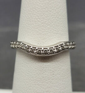 Vintage 925 Sterling Silver Ring with Zirconia Size 5