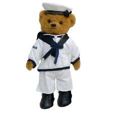 Standing Australian H.M.A.S Sailor Inventory Military Uniform Officer Teddy