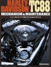 Harley Davidson TC88 Mechanism & Maintenance Mechanical Book