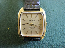 ETERNA ladys gold plate seville quartz watch.   600