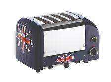 Dualit NewGen 4 Slice Toaster, Union Jack - 47175 - 120 Volts