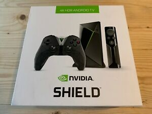 Nvidia Shield HDMI Android TV Top 16GB Media Player 4K HDR (2017) + controller