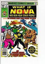 WHAT IF #15 (Marvel, vol.1, 1979): Buckler cover / Nova  --  FN+