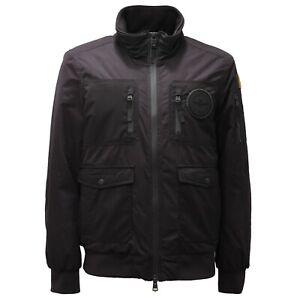 4412AE giubbotto uomo AERONAUTICA MILITARE giubbino black jacket man