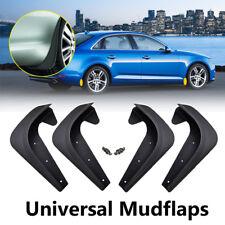 4pcs/set Molded Universal Mud Flaps Splash Guards Mudflaps Mudgurads Fender
