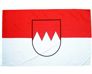 Fahne Franken 90 x 150 cm fränkische Flagge Region Franken Wappen Hiss Flagge