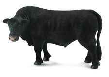 CollectA 88507 Black Angus Bull Realistic Toy Scottish Farm Animal Model - NIP